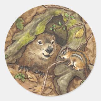 Groundhog Stickers