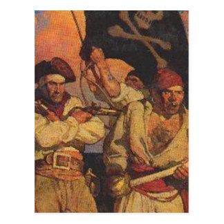 Group of Buccanneers Postcard