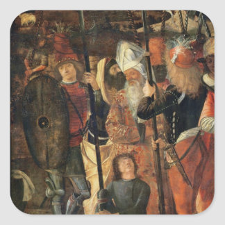 Group of Orientals, Jews and Soldiers, 1493-95 (oi Square Sticker
