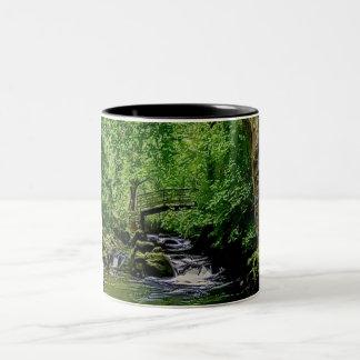 Grove relaxing Two-Tone coffee mug