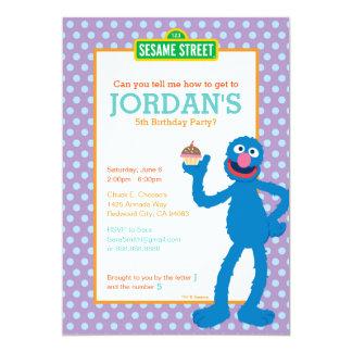 Grover Birthday Card