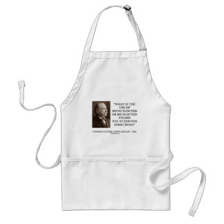 Grover Cleveland Elected Re-Elected Unless Stand Standard Apron