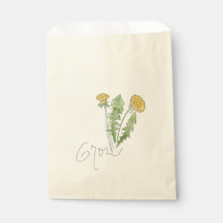 Grow like a Weed Seed Bag Favour Bags