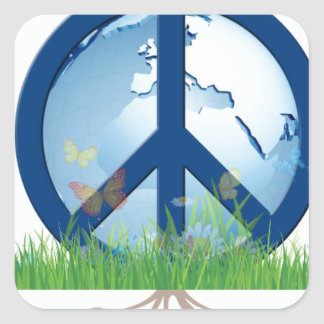 Grow_Peace1.PNG Square Sticker