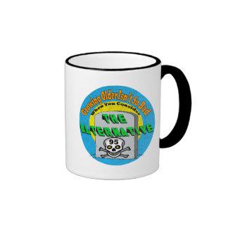 Growing Older 95th Birthday Gifts Ringer Mug