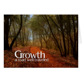 Growth | Business Greeting | Custom Path Card