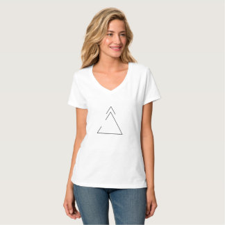 Growth + open to change | v-neck tee