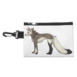 Grrr- Spencer Wolf Clip-On Accessory Bag