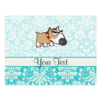 Grumpy Dog, Cute Post Cards