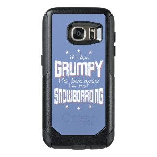 GRUMPY not SNOWBOARDING (wht) OtterBox Samsung Galaxy S7 Case