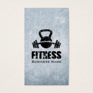 Grunge Fitness Personal Trainer Kettlebell Barbell