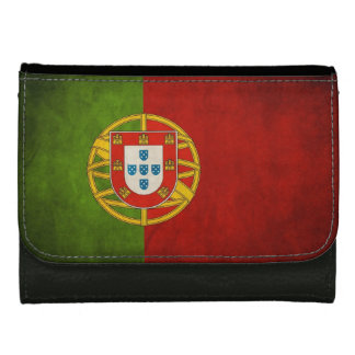 Grunge Flag of Portugal Bandeira de Portugal Wallets