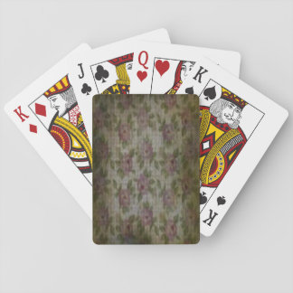 """""""Grunge Flower"""" Playing Cards, Standard Index Playing Cards"""