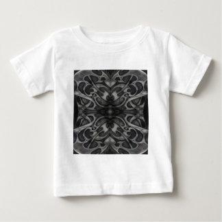 Grunge Grey Metal Tribal  Gothic medieval metallic Baby T-Shirt