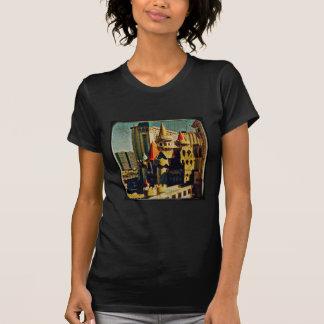 Grunge Medieval Castle T-Shirt