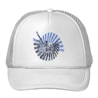 Grunge Music Trucker Hat