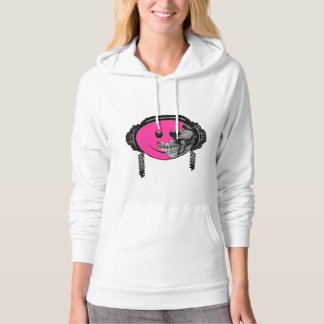 Grunge Party Face Hoodie