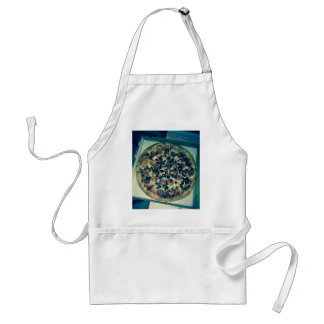 Grunge pizza apparel and items apron