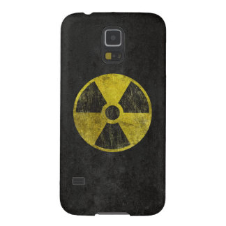 Grunge Radioactive Symbol Galaxy S5 Covers