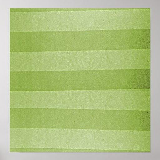 Grunge Retro Horizontal Lines Print