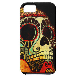 Grunge Skull Case For The iPhone 5