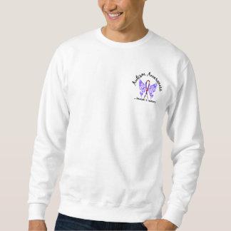 Grunge Tattoo Butterfly 6.1 Autism Sweatshirt