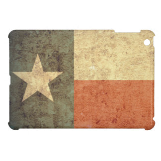 Grunge Texas Flag iPad Mini Case