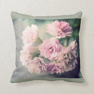Grunge vintage flower pillow cushion