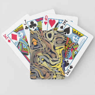 GRUNGE WEAVE Playing Cards