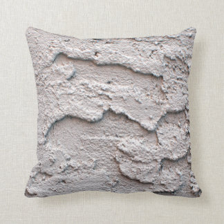 Grungy White Stucco Cushion