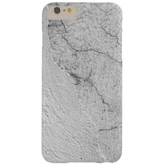 Grungy white stucco wall background barely there iPhone 6 plus case
