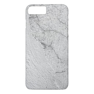 Grungy white stucco wall background iPhone 8 plus/7 plus case