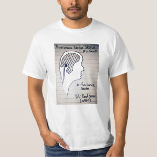 Grunt Brain Sector Sketch T-Shirt