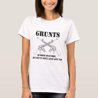 grunts - dumber than dirt T-Shirt