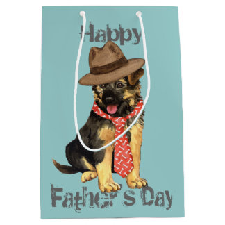 GSD Dad Medium Gift Bag