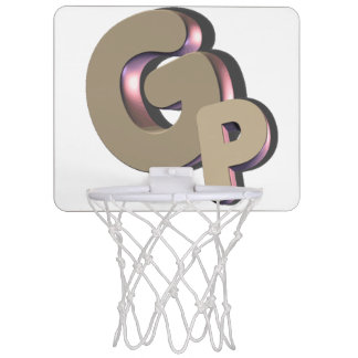 GSN GODPLAYS mini basketball net logo Mini Basketball Hoop