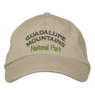 Guadalupe Mountains National Park Embroidered Baseball Cap