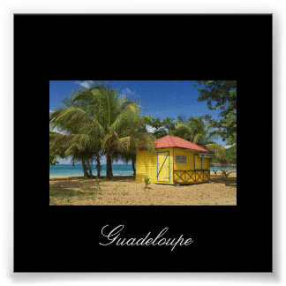 guadeloupe-plage, Guadeloupe Poster