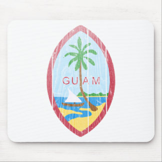 Guam Coat Of Arms Mouse Pad