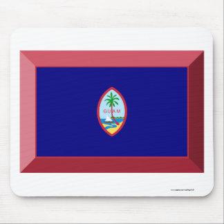 Guam Flag Jewel Mouse Pad
