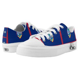 GUAM FLAG --.png Printed Shoes