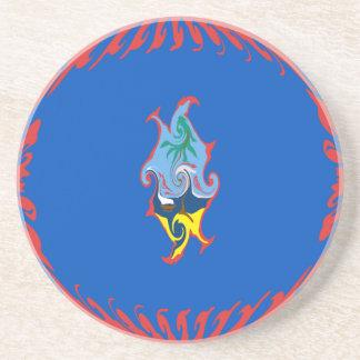 Guam Gnarly Flag Coaster