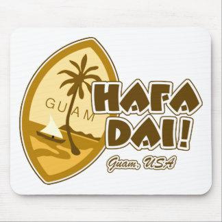 Guam Hafa Dai Mouse Pad