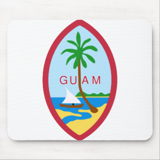 Guam Territory Seal Mouse Pad