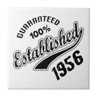 Guaranteed 100% Established 1956 Small Square Tile