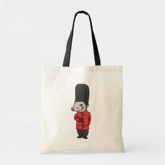 """""""Guard"""" ferret Budget Tote Bag"""