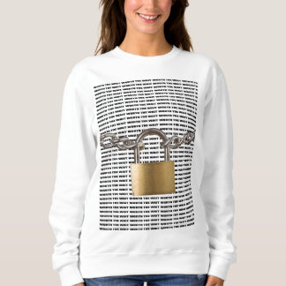 Guarded/Worth The Wait Long-Sleeve Sweatshirt