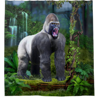 Guardian of the Rain Forest Shower Curtain