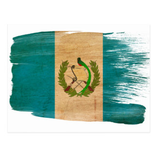 Guatemala Flag Postcards