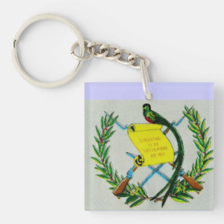 Guatemalan National Symbol Key Ring